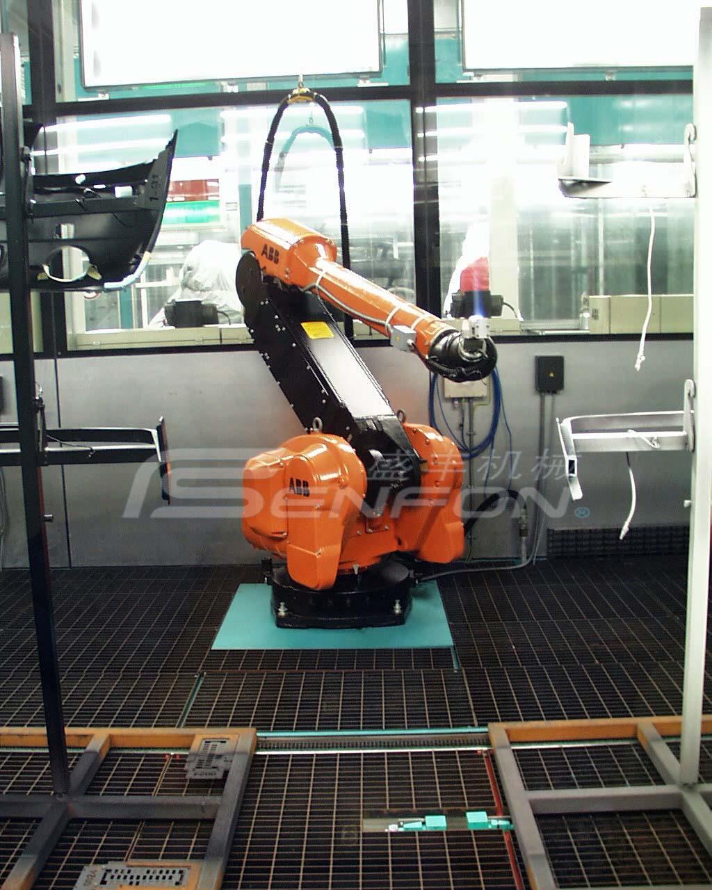 机器人喷涂设备3大需注意的事项