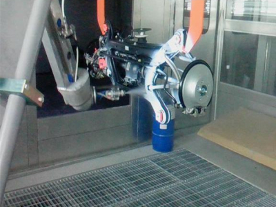 发动机机器人涂装生产线