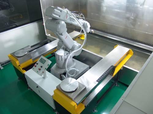 礼品盒机器人自动喷涂线